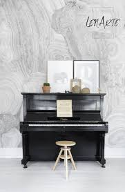 expression marble mural wall covering peel and stick