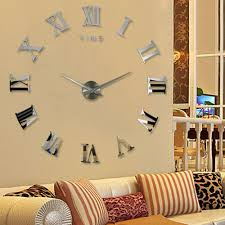 compare prices on wall clock large decoration online shopping buy