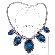 charm necklace choker images Hot new fashion necklace link choker chain statement necklace jpg