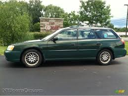 subaru wagon 2003 subaru legacy l wagon in timberline green pearl 309047