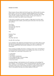 14 part time job application letter address example