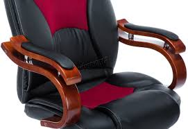 Red Leather Swivel Chair by Foxhunter Computer Executive Office Desk Chair Pu Leather Swivel