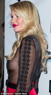 brandi house wives of beverly hills short hair cut brandi glanville shows side boob at real housewives of beverly