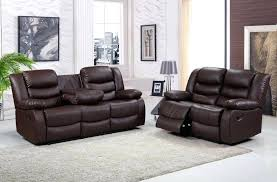 Recliner Sofa Suite Bonded Leather Recliner Sofa Bonded Leather Recliner Sofa Cup