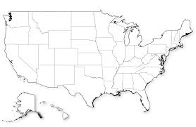 United States Map Without Labels by Blank Map Of Us In Hd
