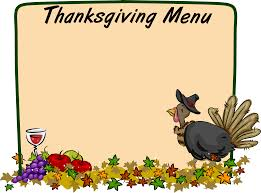 thanksgiving menu template thanksgiving border cliparts free download clip art free clip