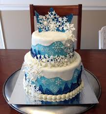 Hard Sugar Cake Decorations Frozen Elsa Cake With Hard Candy Ice Crystals And White Chocolate