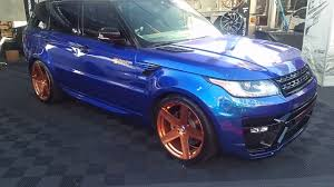 rose gold range rover 877 544 8473 22 inch fittapaldi custom built rosegold rims range