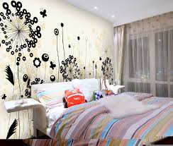 elegant black and white free wall painting designs can be