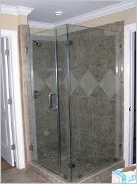 Etched Shower Doors Frosted Etched Glass Shower Doors Comfy Inman Glass Co Custom