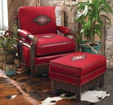 southwestern chairs and ottomans cody club chair ottoman crowsnest 2800 plus additional shipping