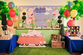 peppa pig decorations theme peppa pig its more than just a party