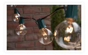 Clear Patio Lights Patio String Lights Yard Envy