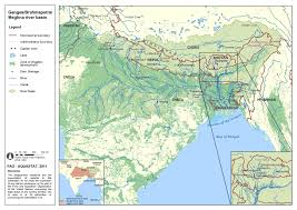 Asia Rivers Map by Knowledge Platform On Brahmaputra River Basin Scidev Net South Asia