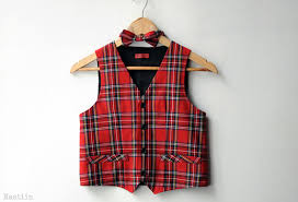boys vest and bow tie toddler boy vest baby boy bow tie