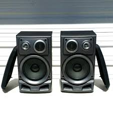 Bookshelf Speaker Sale Best Aiwa Sx Zr 525 120 Watt 3 Way Bookshelf Speakers For Sale In