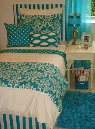bedroom stunning bedroom design with turquoise floral bedsheet