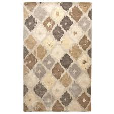 Grey And Tan Rug Flooring Grey Area Rug And Awesome Ikat Rugs For Luxury Laminate