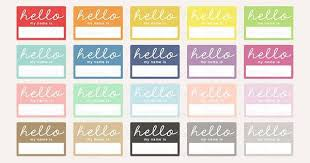 printable name tags 8 printable name tags psd vector eps jpg