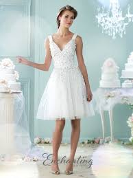 casual wedding dress enchanting by mon cheri 215104 tulle casual wedding dress