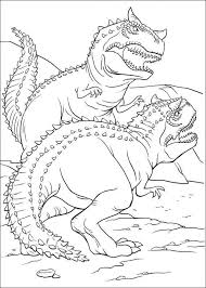 fighting dinosaur coloring pages coloring kids kids