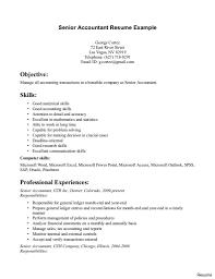 exle of accountant resume best staff accountant resume exle livecareer free sle senior