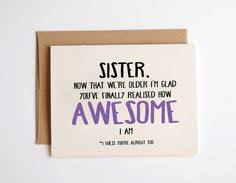 brother sister birthday card being related to by squidgefacecards