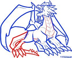 how to draw a fire dragon fire dragon red dragon step by step