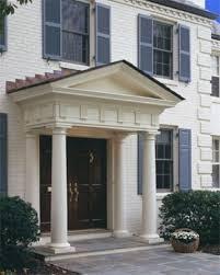 Front Door Pillars traditional exterior