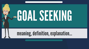 Seeking Meaning What Is Goal Seeking What Does Goal Seeking Goal Seeking