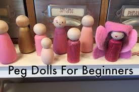 peg dolls u2013 pepper and pine
