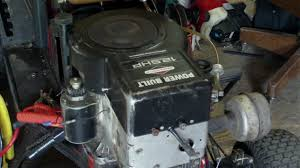 new engine 12 5 hp horsepower briggs and stratton power built