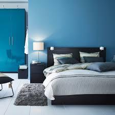 Schlafzimmerm El Highboard Gemütliche Innenarchitektur Ikea Schlafzimmer Blaue Wand Ikea