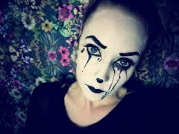 black swan halloween makeup halloween makeup tutorial pierotte clown youtube