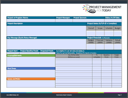 100 template project management progress report template