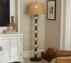 Home Decor Floor Lamps Stacked Mercury Glass Floor Lamp Base Pottery Barn