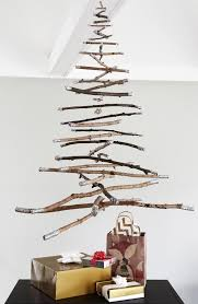 how to hanging twig christmas tree curbly