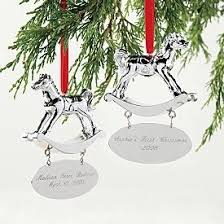 baby ornament personalized silver xmas2017 net