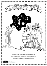 parshat vayeishev coloring page click on picture to print