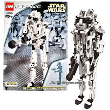 technic pieces star wars technic series set 8008 stormtrooper with blaster