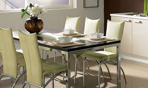 chaises cuisines rétro table thème avec supplémentaire zoom sur les tables et chaises