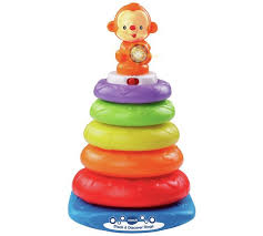 baby toy rings images Buy vtech stack and discover rings baby toys argos