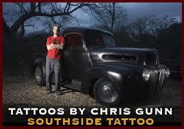 chris gunn tattoo austin texas award winning artist south congress
