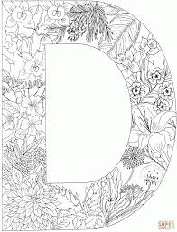alphabet letters coloring pages funycoloring outline templates for