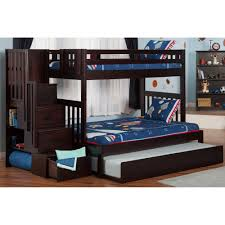 Great Bunk Beds For Boys Cute Furniture - Twin over full bunk bed trundle