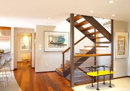 Recessed Handrail Stair Handrail Vogue Burlington Contemporary Staircase Inspiration