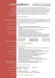 insurance cv examples business manager resume objective examples professional with