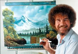 Painter Meme - bob ross eurokeks meme stock exchange