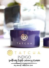 Tatcha Skin Care Reviews Tatcha Indigo Soothing Triple Recovery Cream Review My Newest