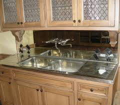 Mirrored Backsplash In Kitchen Custom Framed Mirrors